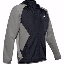 UA Stretch Woven Jacket, Green/Black