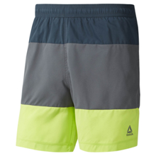 Reebok Beachwear Modern Retro Shorts, Blue Hills