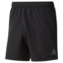 Reebok Beachwear Basic Boxer Shorts, Black
