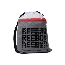 Reebok One Series Training Gym Sack, Powder Grey