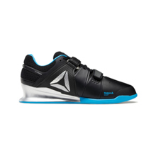 Reebok Legacy Lifter Shoes, Black/Matte Silver