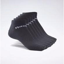 Reebok Active Core Low-Cut Socks, 6 Pairs, Black