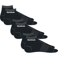 Reebok Active Core Ankle 3 Pack, Black
