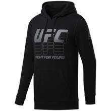 Reebok UFC Fan Gear Hoodie, Black/Grey