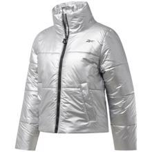 Reebok Studio Puffer Women's Jacket, Silver