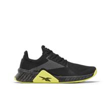 Reebok Flashfilm Trainer Training Shoes, Black/White/Yellow