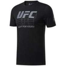 Reebok UFC Fan Gear Logo T-Shirt, Black