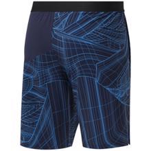 Reebok AOP Speed Shorts, Vector Navy