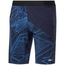 Reebok AOP Speed Shorts, Vector Navy
