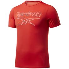 Reebok Workout Ready Activchill Graphic SS Shirt, Instinct Red