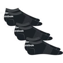 Reebok Active Core Low Cut Socks 3 Pack, Black