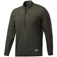 Reebok Thermowarm Deltapeak Quarter-Zip Sweatshirt, Green
