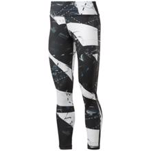 Reebok Workout Ready Printed Women's Leggings, Black