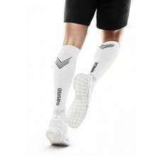 Kompresijske nogavice Rx, white,