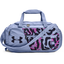 UA Undeniable 4.0 Small Duffle Bag, Washed Blue/Navy