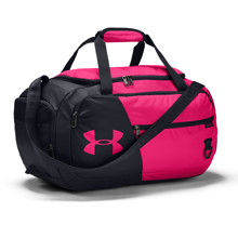 UA Undeniable 4.0 Small Duffle Bag, Cerise/Black