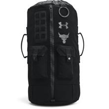 UA Project Rock 60 Bag, Black/Pitch Grey