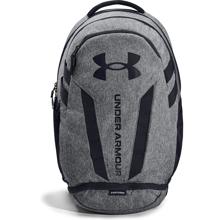 UA Hustle 5.0 Backpack, Black/Graphite