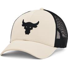 UA Project Rock Trucker Cap, Summit White/Black