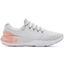 UA Charged Vantage Women's Shoes, Halo Grey/Particle Pink