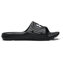 UA Locker IV Slides, Black/White