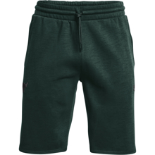 UA Project Rock Charged Cotton Fleece Shorts, Fisher Green