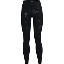 UA Women's Rush Tonal Leggings, Black/Iridescent
