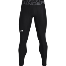 UA HeatGear Leggings, Black/White