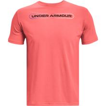 UA Lockertag SS Training Shirt, Venom Red/Black