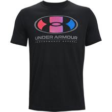 UA Multicolor Lockertag SS Training Shirt, Black