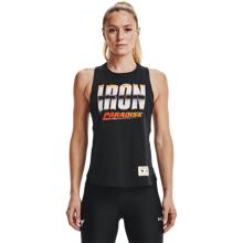 UA Project Rock Iron Women's Tank, Black