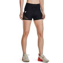 UA Project Rock DC Women's Shorts, Black