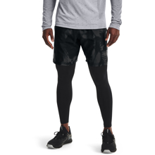 UA Woven Adapt Shorts, Black/Pitch Grey