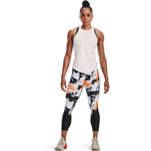 UA Women's Project Rock 7/8 Leggings, Black