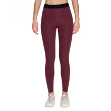 Serene Leggings, Red Wine