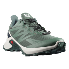 Salomon SuperCross Blast GTX, Balsam Green/Lunar Rock
