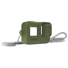GoPro Sleeve + Lanyard, Turtle Green