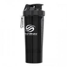 SmartShake Slim Gunsmoke Black, 500 ml
