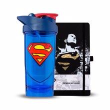Shieldmixer, Superman Classic, 700 ml + Superman Notebook GRATIS