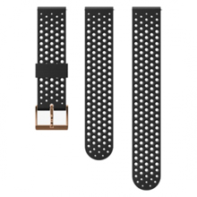 Suunto zamenljiv pašček, 20 mm, silikonski, Athletic, Black/Copper