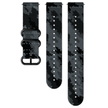 Suunto zamenljiv pašček, tekstilni, Concrete/Black