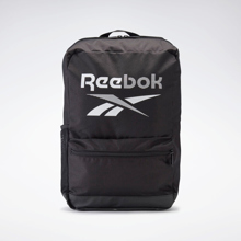 Reebok Training Essentials Medium Backpack, Black/White