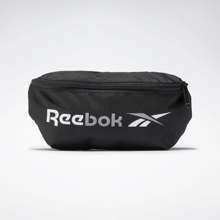 Reebok Training Essentials Waistbag, Black/White