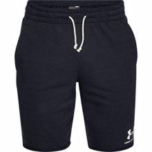 UA Sportstyle Terry Training Shorts, Black