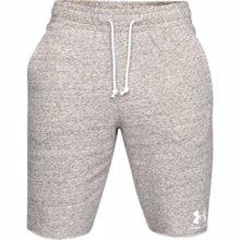 UA Sportstyle Terry Training Shorts, Onyx White