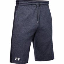 UA Double Knit Training Shorts, Black
