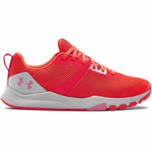 UA TriBase Edge Women's Trainer Shoes, Beta/White