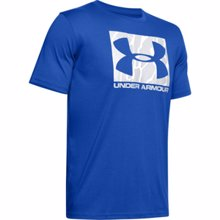 UA Boxed Sportstyle Camo Fill Graphic T-Shirt, Versa Blue