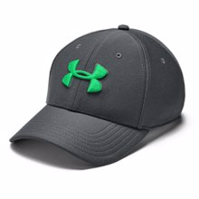 UA Blitzing 3.0 Cap, Grey/Green