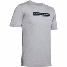 UA Reflection Short Sleeve T-Shirt, Light Heather